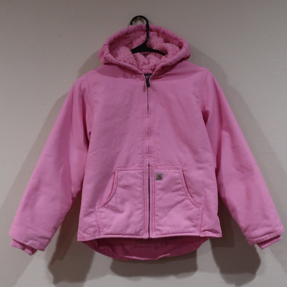1c9a90d9d Carhartt Jackets & Coats | Redwood Jacket Sherpa Lined Girls Medium ...